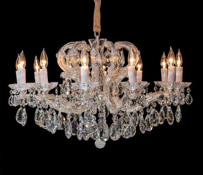 Portola Silver 12 Light Chandelier