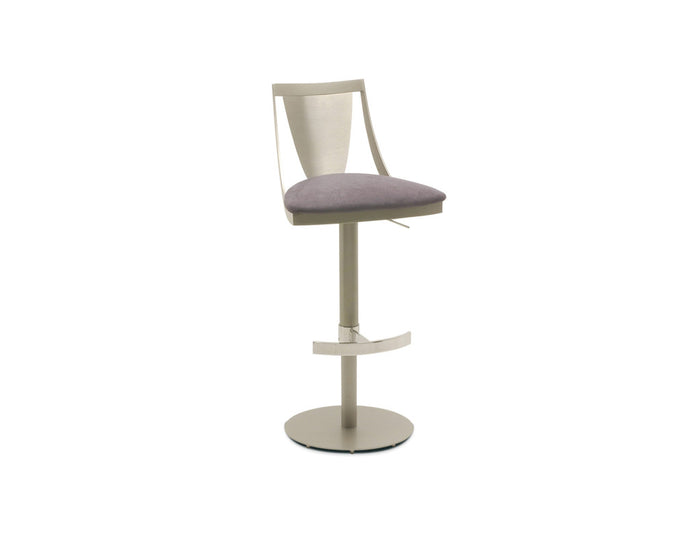 Lana Contemporary Adjustable Barstool
