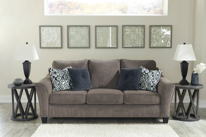 Malorie Slate Living Room Collection with Optional Queen Sleeper