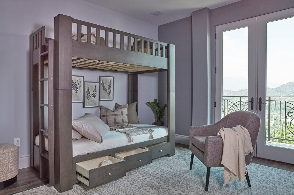 Winnie Antique Grey Bunk Bed