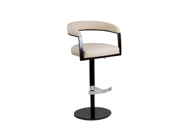 Helix Upholstered Adjustable Barstool