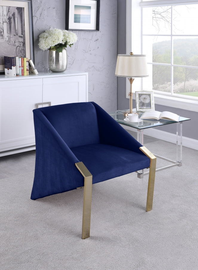 Rivera Velvet Accent Chair in 5 Color Options