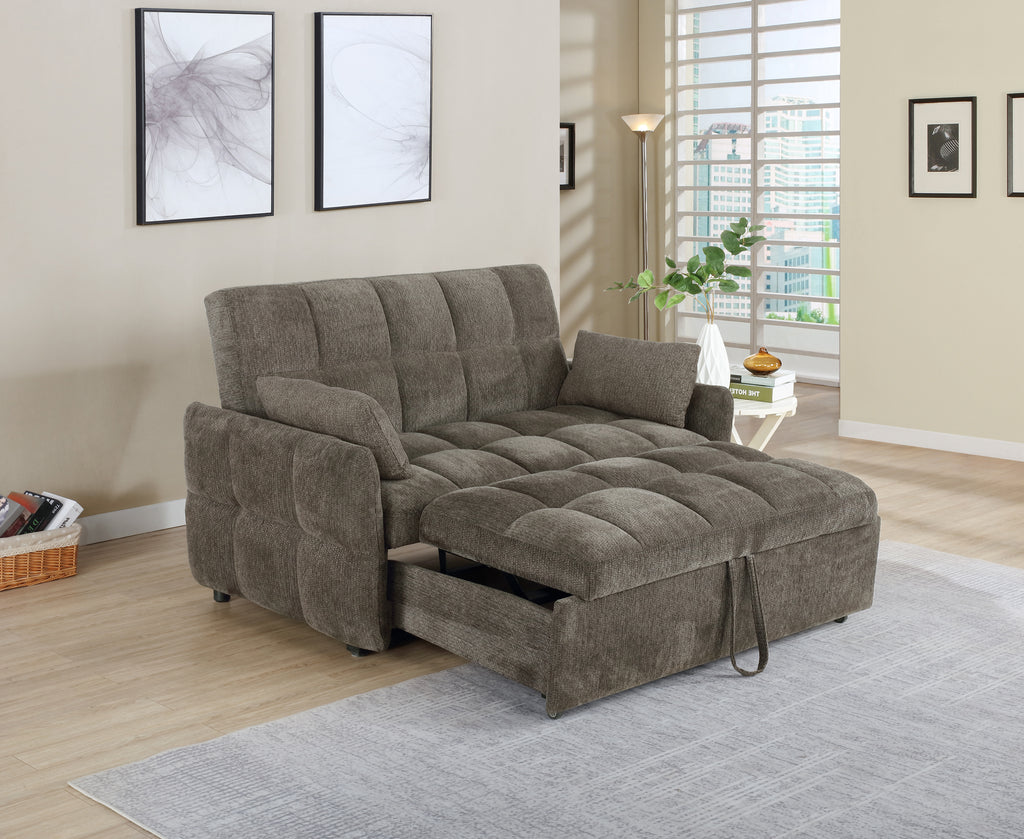 Colton Fabric Convertible Sofa Sleeper
