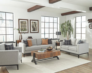 Asherton Light Grey Living Room Collection