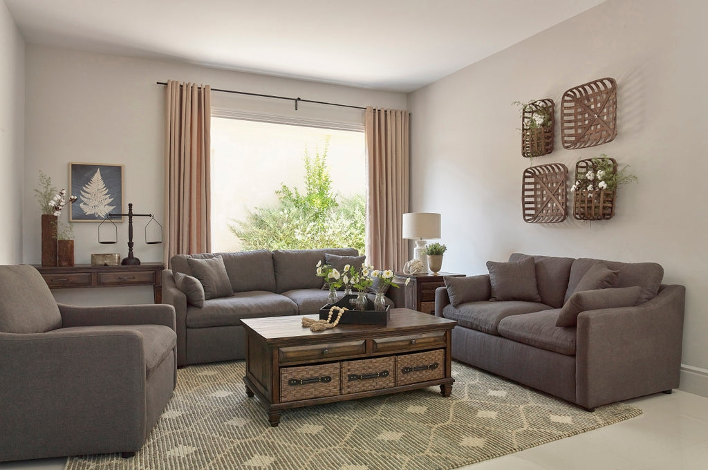 Connor Charcoal Living Room Collection