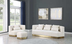 Marcy Velvet Living Room Collection in 4 Color Options