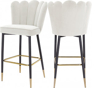 Lynette Velvet Barstool in 6 Color Options