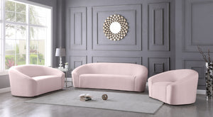 Miley Velvet Living Room Collection in 7 Color Options