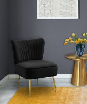 Tesla Velvet Accent Chair in 5 Color Options