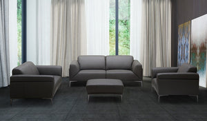 Kingston Leather Living Room Collection in 3 Color Options