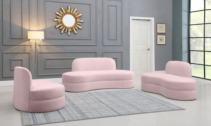 Minzy Velvet Living Room Collection in 6 Color Options