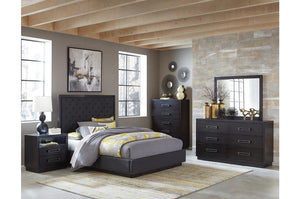 Laura Upholstered Bedroom Collection