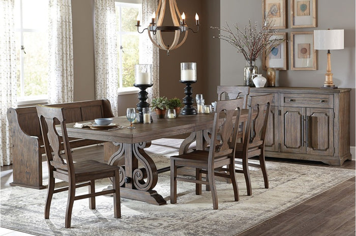 Toulliver Dining Room Collection with Optional Bench
