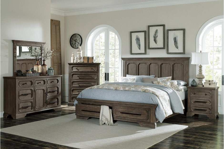 Toulliver Storage Platform Bedroom Collection