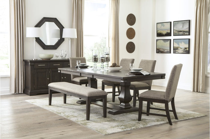 Suzy Traditional Dining Room Collection with Optional Bench