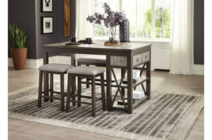 Eli Rustic Counter Height Collection