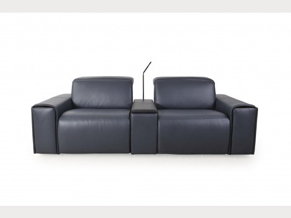 Le Mans Reclining Sofa with Cup Holder and Reading Light