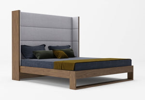 Lowe Walnut Bedroom Collection