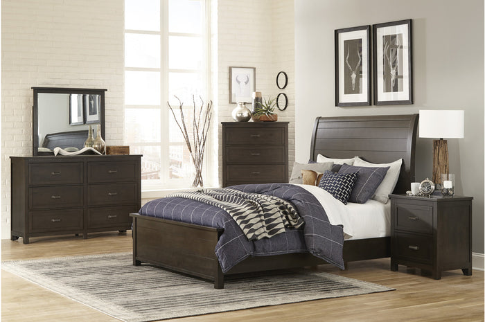 Herbert Dark Cherry Bedroom Collection