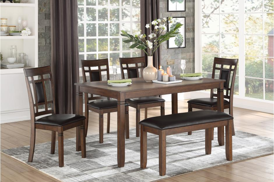 Salvatore 6 Piece Dinette Set