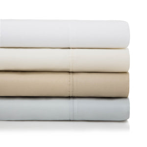 600 Thread Count Cotton Blend Sheets Set in 4 Color Options
