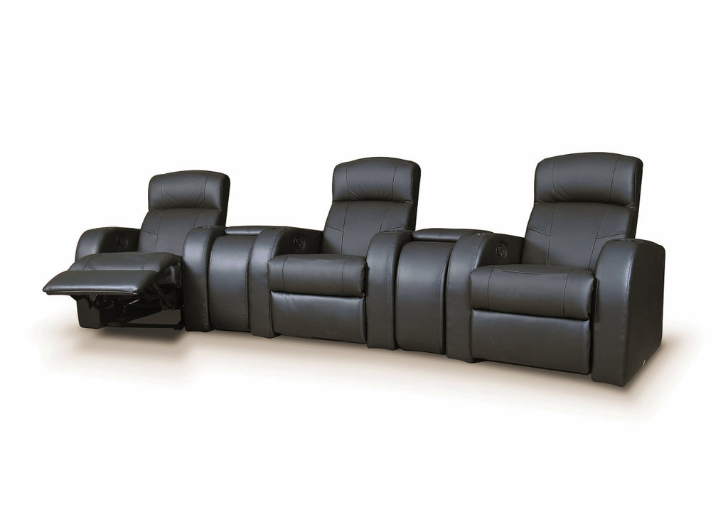 Cyprus Black Home Theater Collection