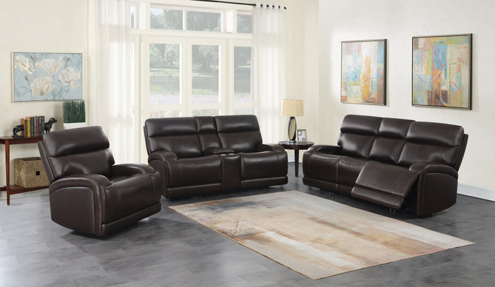 Porter Power Reclining Living Room Collection in Brown or Charcoal