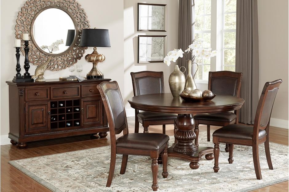Lauren Traditional Round Dining Room Collection