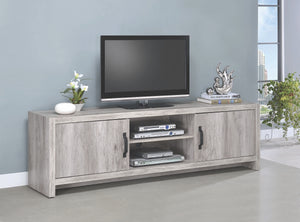 Grey Driftwood TV Stand in 2 Sizes