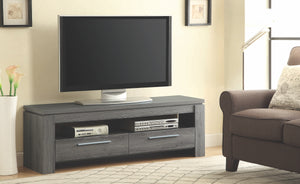 Jake TV Console in Weathered Grey or Brown