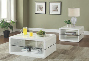 Bruce White Occasional Table Collection