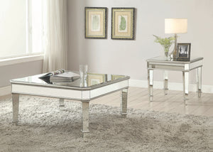 Courtney Mirrored Occasional Tables Collection