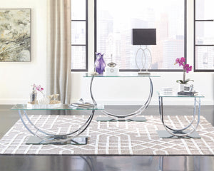 Contemporary U-Shaped Occasional Table Collection