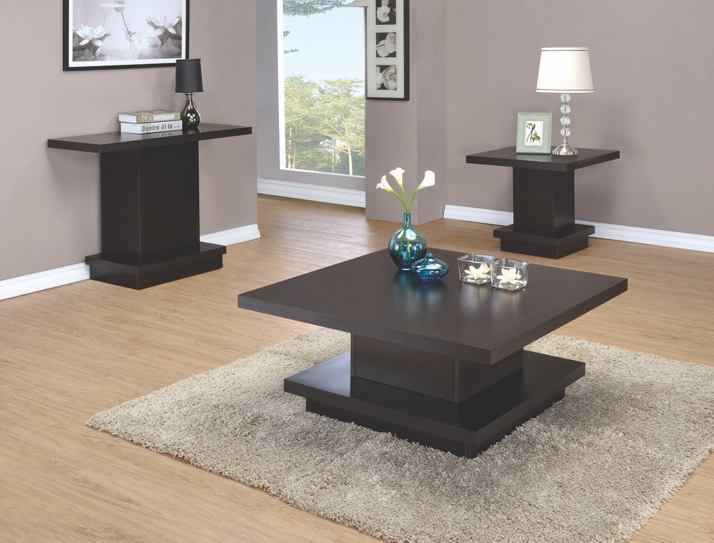 Contemporary Pedestal Occasional Table Collection