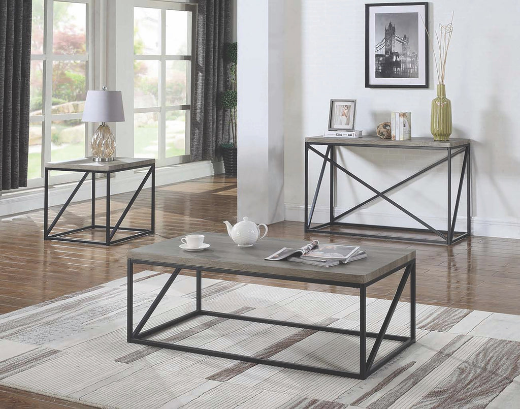Sonoma Grey Occasional Table Collection