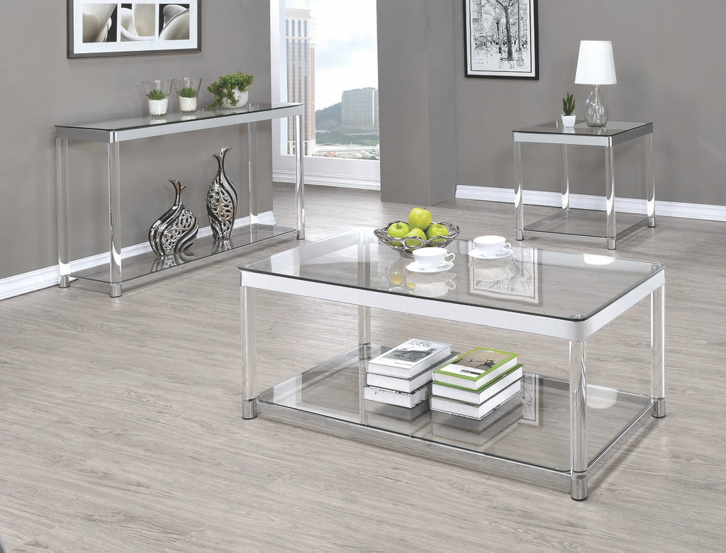 Wayne Acrylic Occasional Table Collection