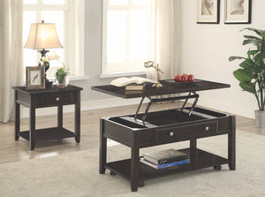 Chloe Lift Top Storage Occasional Tables Collection