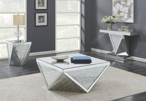 Melvina Mirrored Occasional Tables Collection