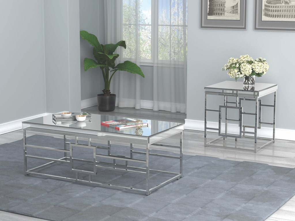 Modern Geometric Occasional Table Collection