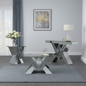 Contemporary Mirrored Occasional Collection