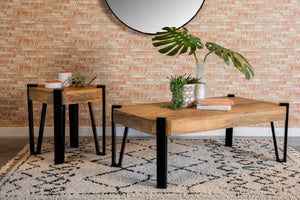 Modern Rustic Hairpin Legs Occasional Collection