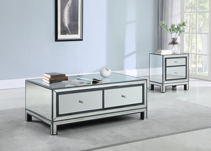 Modern Storage Mirrored Occasional Tables
