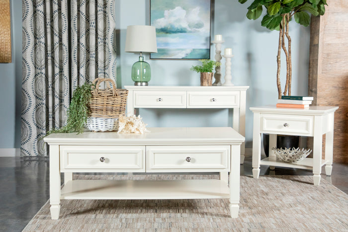 White Farmhouse Occasional Collection
