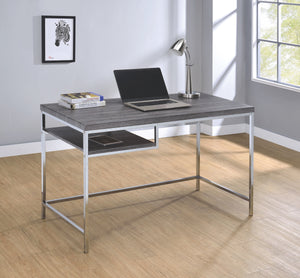 Kramer Weathered Grey Writing Desk