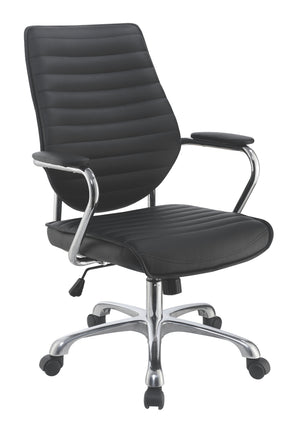 Contemporary Office Chair in Taupe or Black by Scott Living