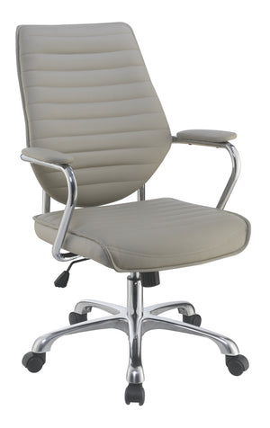 Contemporary Office Chair in Taupe or Black