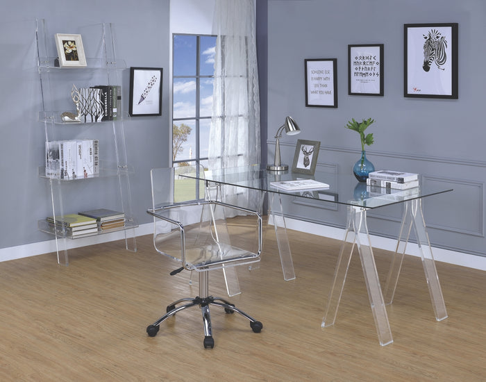 Armando Acrylic Office Desk Collection