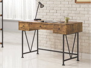 Analise Industrial Writing Desk in 3 Finishes