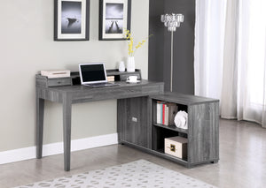 Janie Rustic L-Shaped Desk