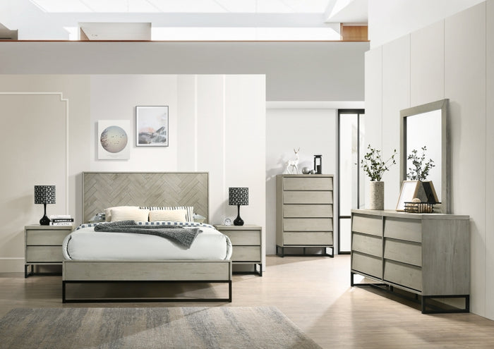 West Grey Stone Bedroom Collection